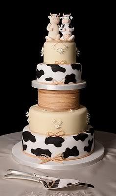 Torta mucca Cowweddingcake
