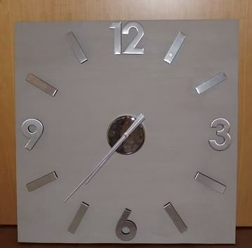 Base in legno orologio Orologio2