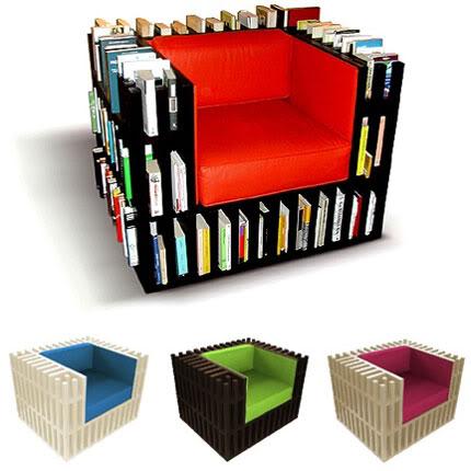 Idee per la casa Poltrona_libreria