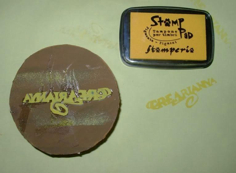 Timbro Crearianna & C. Stampocrearianna