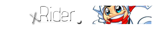 Suggestions / Banner XRider