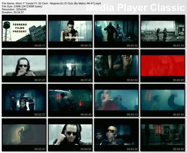 Wisin Y Yandel Ft. 50 Cent - Mujeres En El Club [320x240] HQ (Extraido Del Vob) MujeresEnElClub