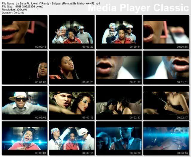 La Sista Ft. Jowell Y Randy - Stripper (Remix) [320x240] HQ (Extraido Del Vob) StripperRemix