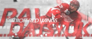 Detroit Red Wings.  Big-P