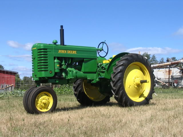 17th Annual Field Days at Park Rapids Antique Tractor & Engine Club John20Deere20MT20raffle20tractor202