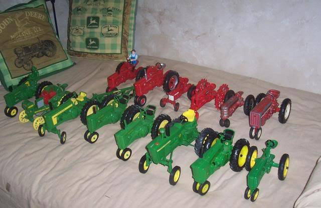 Some of my toy tractors 100_4895