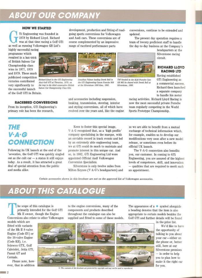 ALL VW VINTAGE - Page 3 1990GTIEngineering001