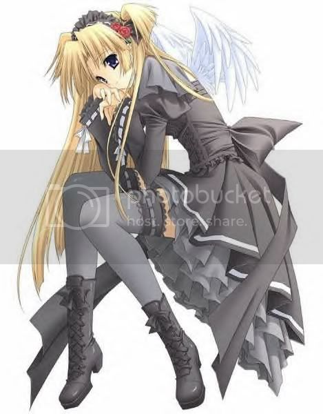 shoping!...... Gothic_anime