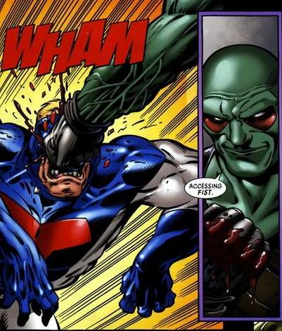 Martian Manhunter vs Thanos Accessingfist