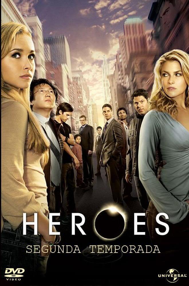 [http][tor][dvd-r] Heroes 2º Temporada Completa Heroes_Poster