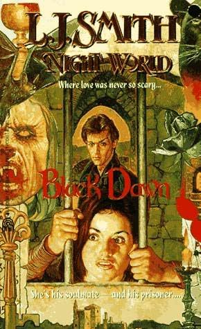 Night World original covers Blackdawn