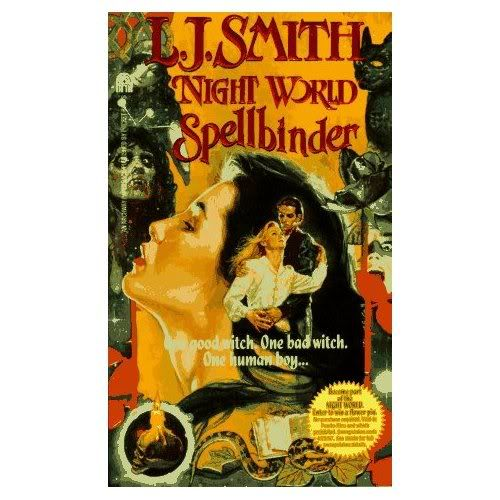 Night World original covers Spellbinder