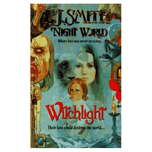 Night World original covers Witchlight