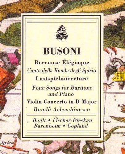 Ferruccio BUSONI (1866-1924) BusoniBerceuse