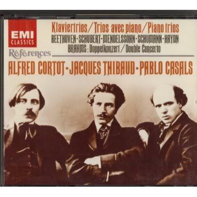 Les plus beaux trios Cortot-Thibaud-Casals