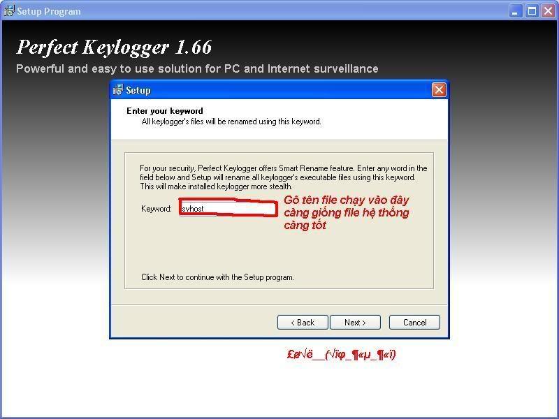 Hướng dẫn sử dụng perfect keylog 1.68 (mới nhất) từ A-Z!! 21