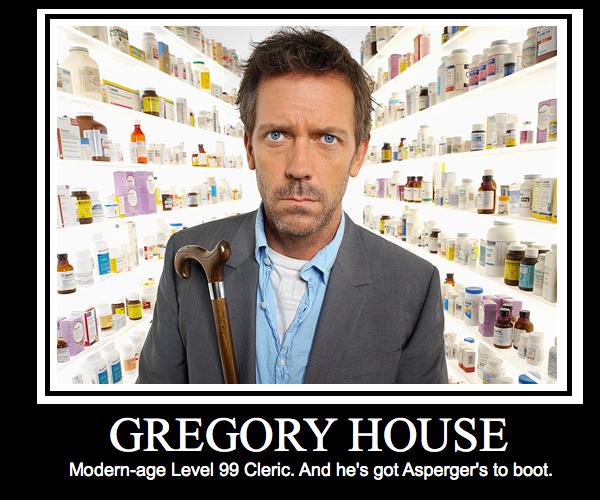 Pon al personaje GregoryHouseMotivationalPoster