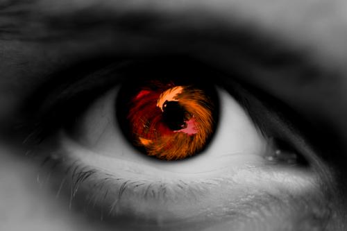 Denkou Clan (Lightning) Red_Orange_Eye