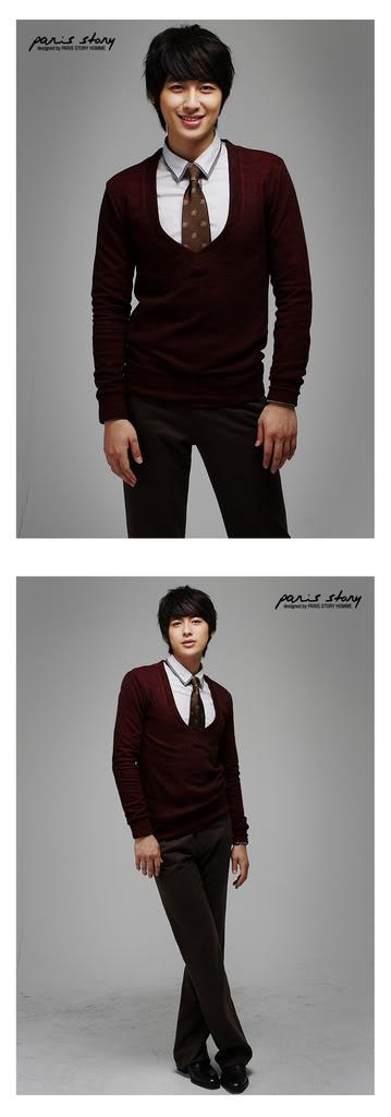 Lee Jee Hoon - Paris Story Hommes Collection II (NEW) PH85-K-15