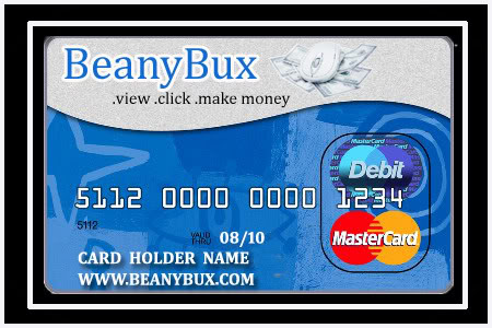 Beanybux.com Prepaid Debit Mastercard / Visa Design Contest - Page 2 BeanyBuxmasterCard1
