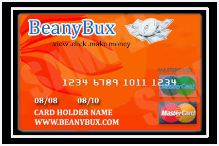Beanybux.com Prepaid Debit Mastercard / Visa Design Contest - Page 2 BeanyBuxmasterCard2