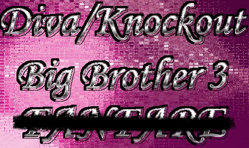 Diva/Knockout Big Brother 3 - Episode 22 Logo-1