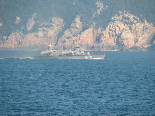 Biển Đông dậy sóng HQ355-1