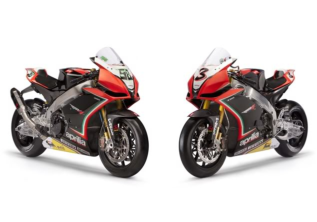 Aprilia Racing reveals 2012 RSV4 WSB 45387