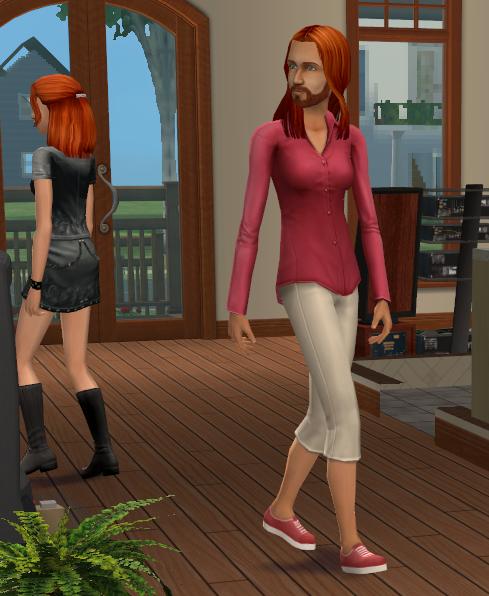 Sims 2 Gender Change Tutorial using SimPE by Caleb_71 Daniel2