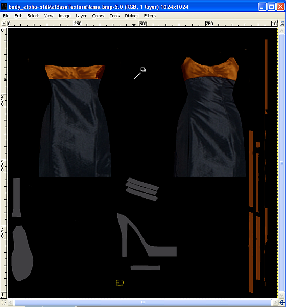 Gimp Photoskinning Tutorial by Caleb - Pic heavy Pic33