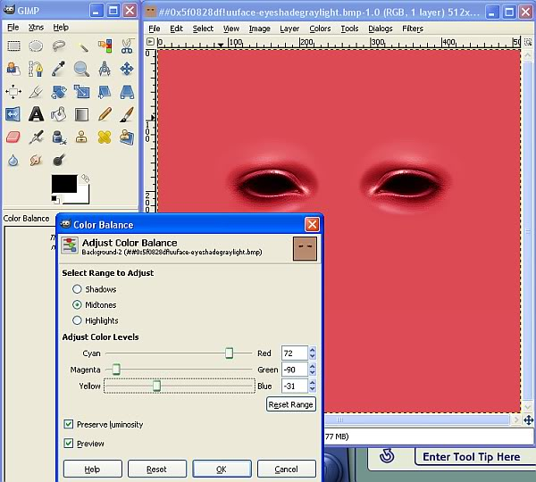 Tutorial for Recolouring in BodyShop by Caleb Make-upTute3