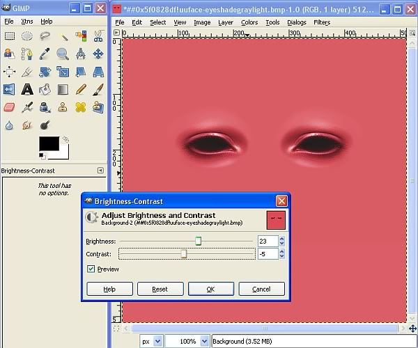 Tutorial for Recolouring in BodyShop by Caleb Make-upTute5