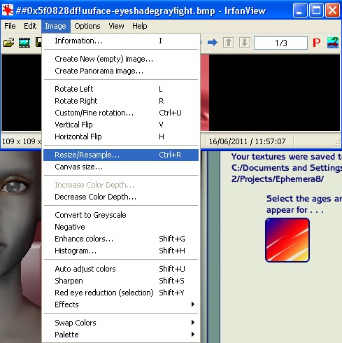 Tutorial for Recolouring in BodyShop by Caleb Make-upTute9