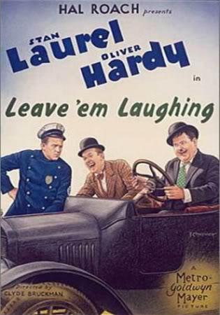 مجموعه من  افلام لوريل وهاردي Laurel and Hardy 1928Leaveemlaughing