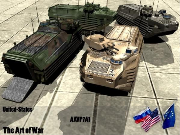 The Art of War Vehicles AAVP7A1