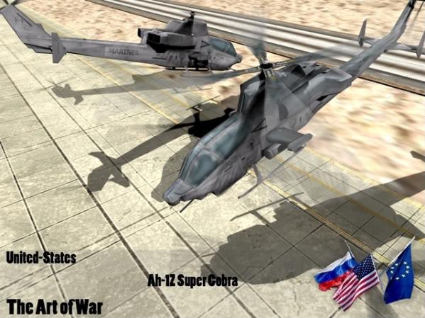 The Art of War Vehicles Ah1Z