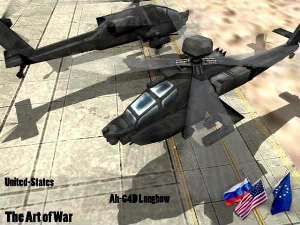 The Art of War Vehicles Ah64D