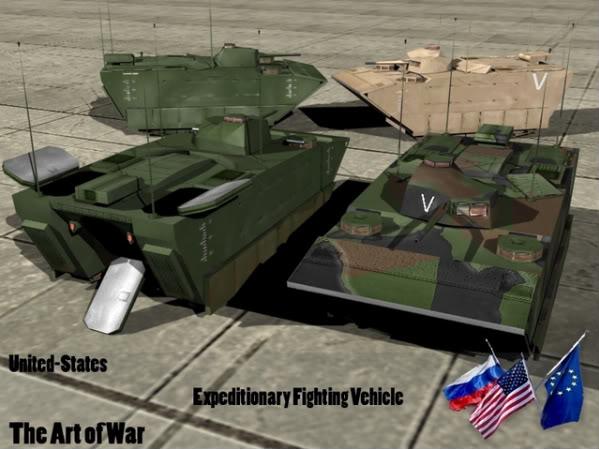 The Art of War Vehicles EFV-2