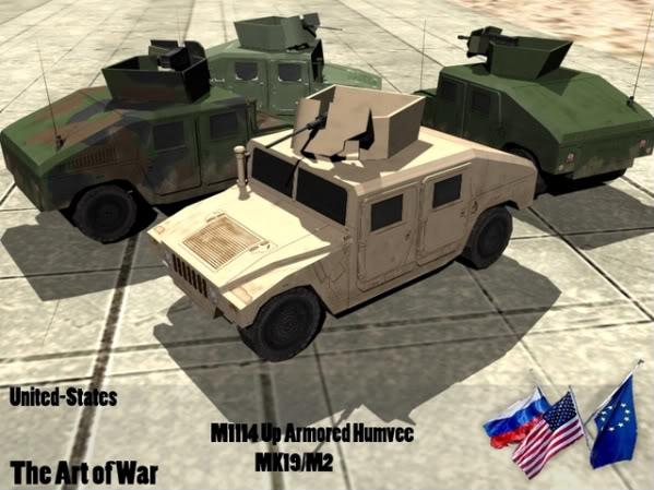 M1114 Up-Armored Armament Carrier HMMWV [OLD] Humvee-2