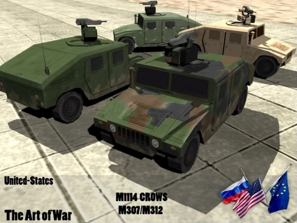 LV - M1114 'CROWS II' [OLD] HumveeCrows-1