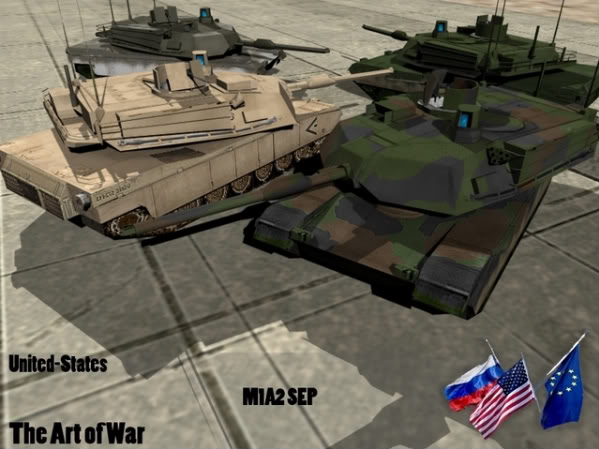 M1A2 Abrams SEP [OLD] M1A2-2