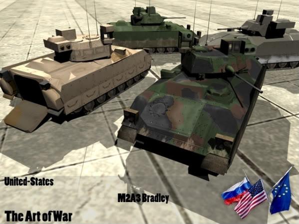 The Art of War Vehicles M2A3-2