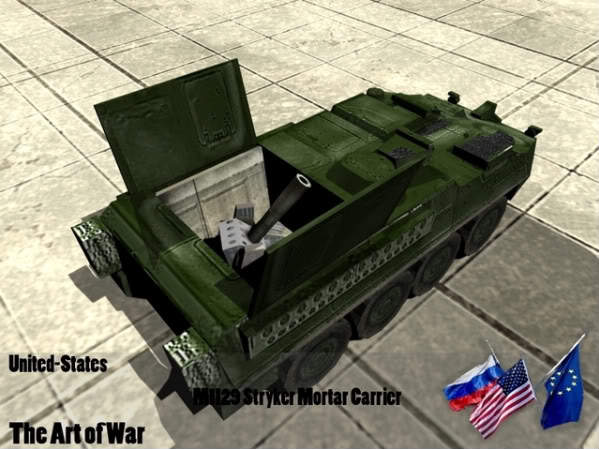 ARTY - M1129 [OLD] StrykerMortar