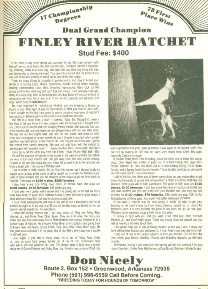 Spring Creek Rolex 700FinleyRiverHatchet17titles