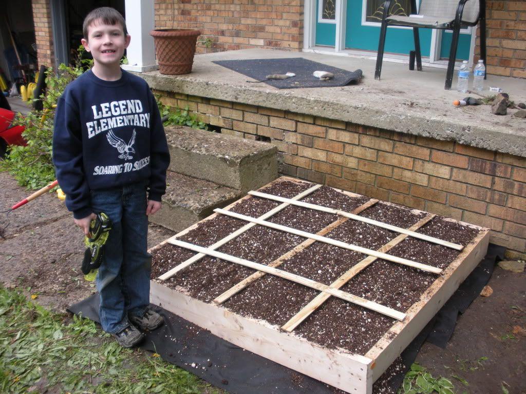 First Garden. From Ohio DSCN1273