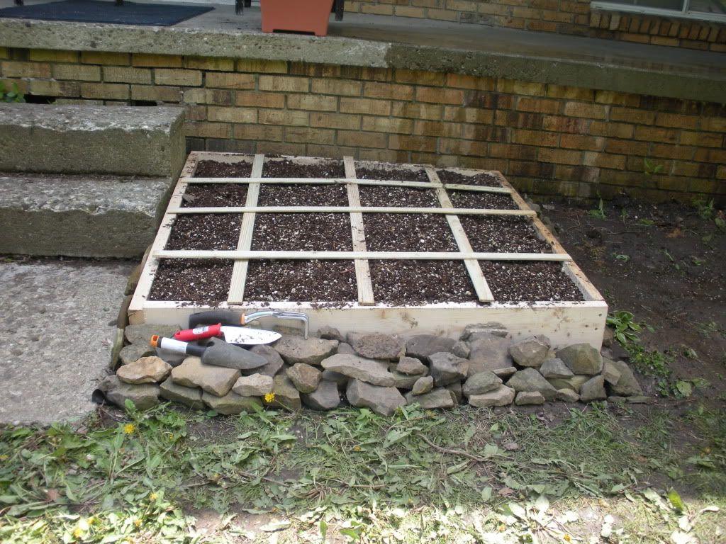 First Garden. From Ohio DSCN1289