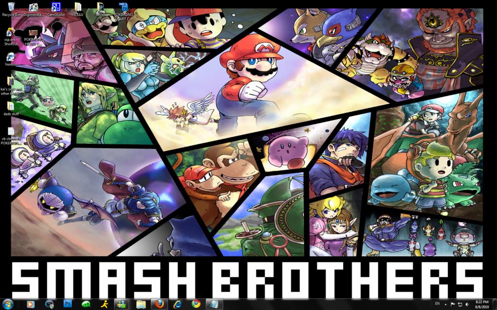 lets post pics of our desktop Smashbrodesktop