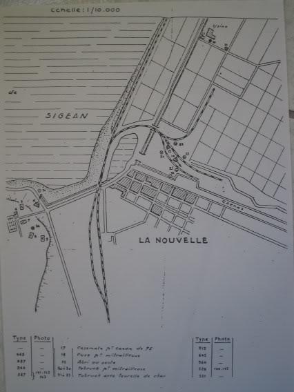 PLANS SHM :PORT LA NOUVELLE (11) CarteSHMPORTLANOUVELLE2