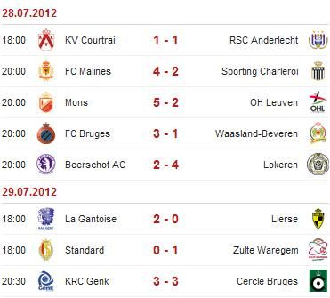 Jupiler League - Saison 2012/2013 Bel-5