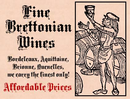 Posters for Mordheim Terrain! BretonniaWines